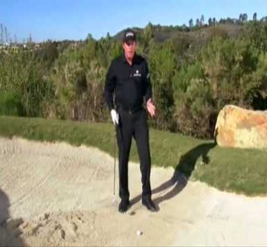 Bunkers Shots with Phil Mickelson